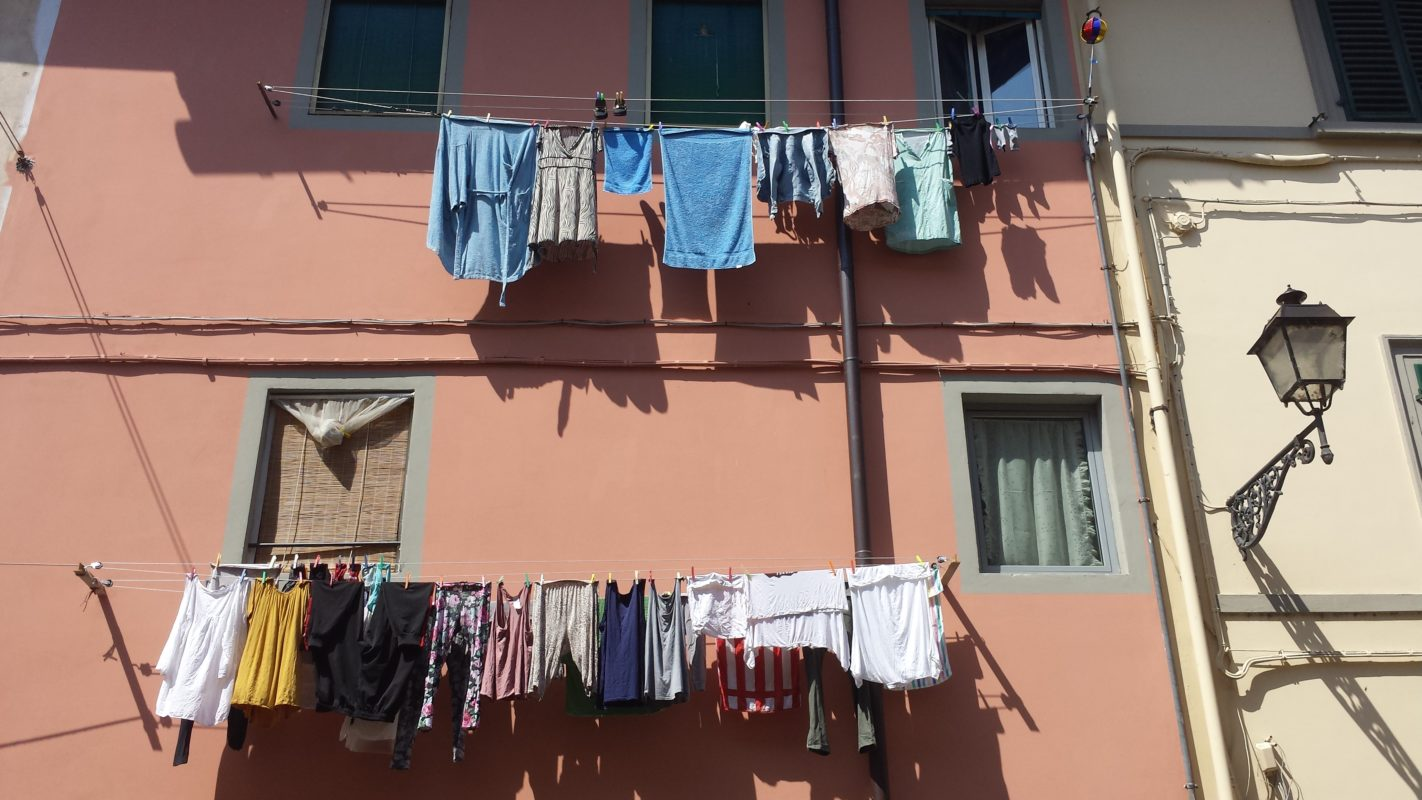 State of the art Italian clothes dryer..
